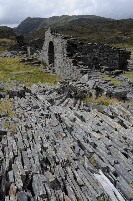 Ruins of Rhosydd Quarry