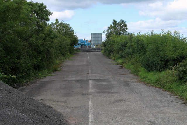 2011 : A371 a bypassed portion or it could have been the A37