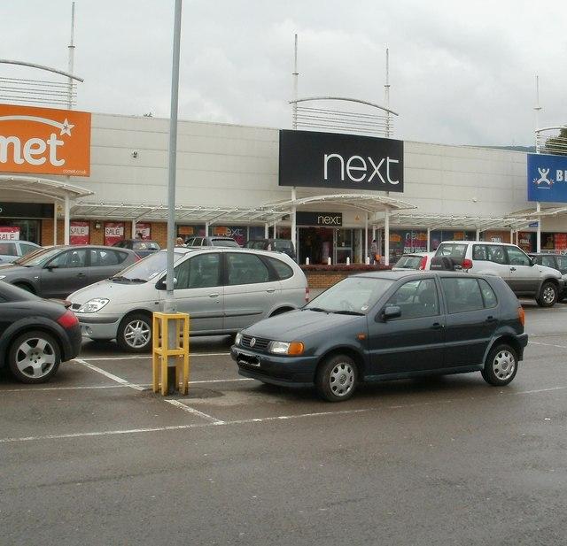 Next, Cwmbran Retail Park