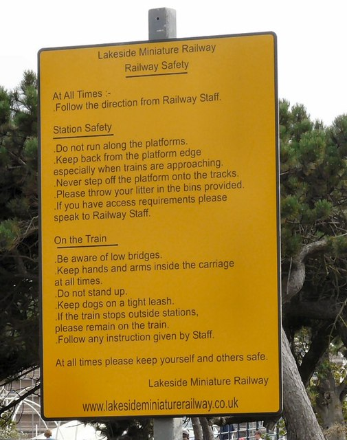 Railway Safety Notice