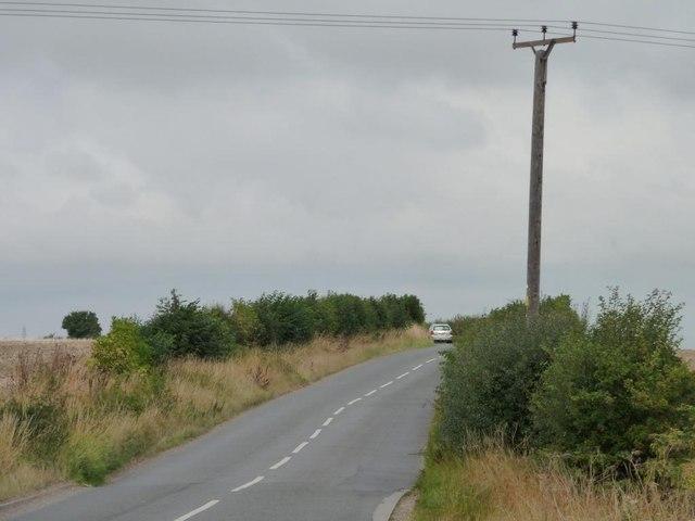 Telegraph pole, Norton and Kirk Smeaton Road