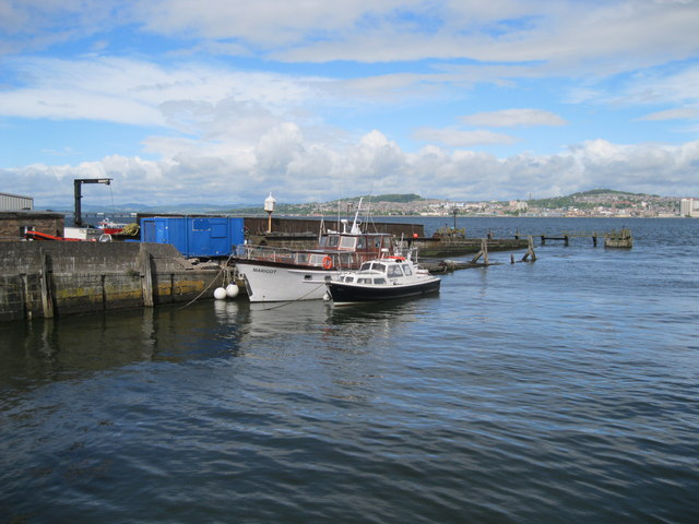 Pier at Newport-on-Tay