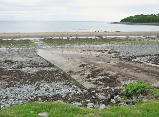 The slipway at Ardwell