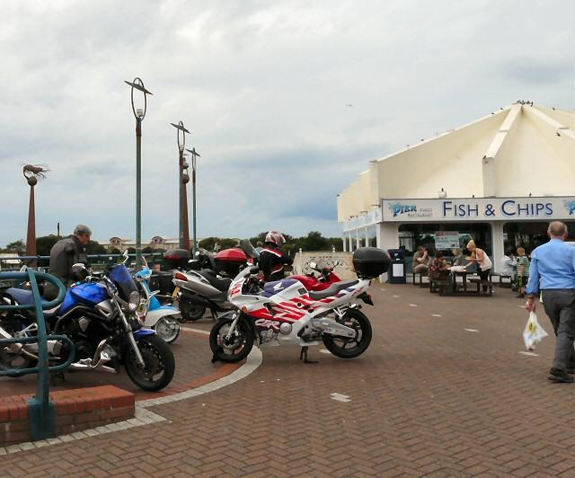 Motorbikes at Southport