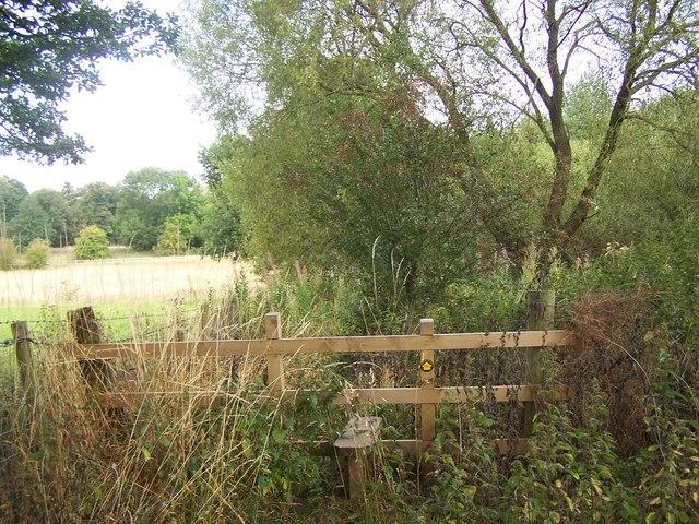 Footpath To Penkridge