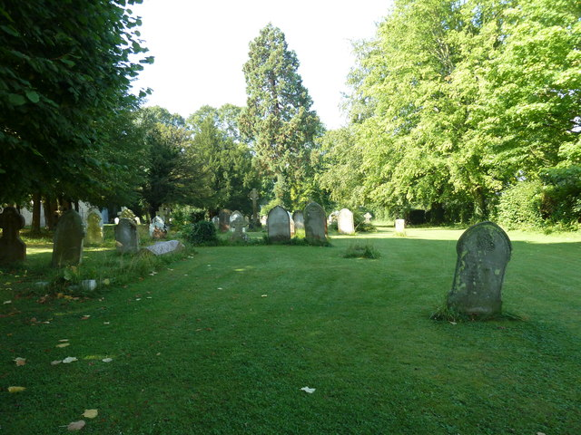 All Saints, Crondall: a verdant churchyard