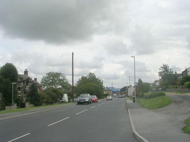 Moorside Road - viewed from Moorside Approach
