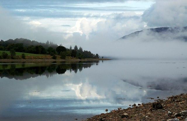 Morning Mist on Loch Eil