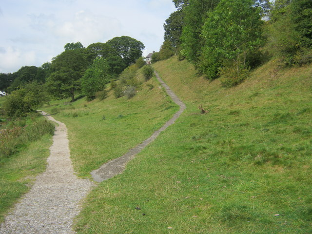 Footpath up to Youlgrave from the Limestone Way