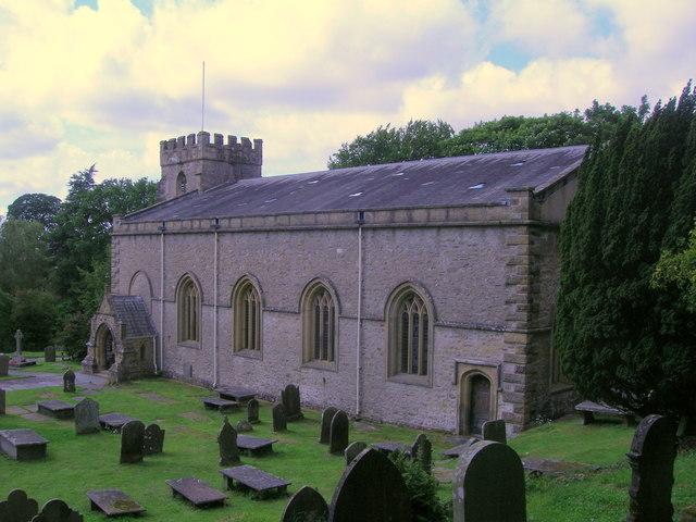 The Parish church of St James, Clapham