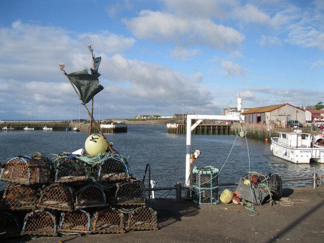 Tidal harbour, Arbroath