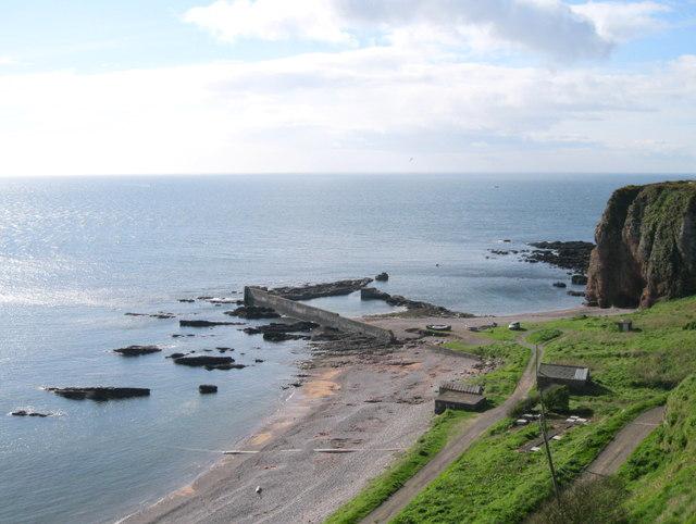 Auchmithie Harbour