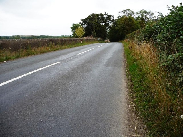 New Road, about to drop into Campsall