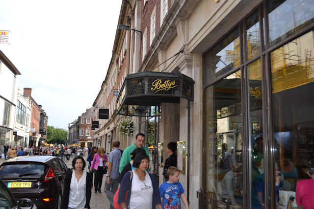Bettys Tea Rooms in Davygate