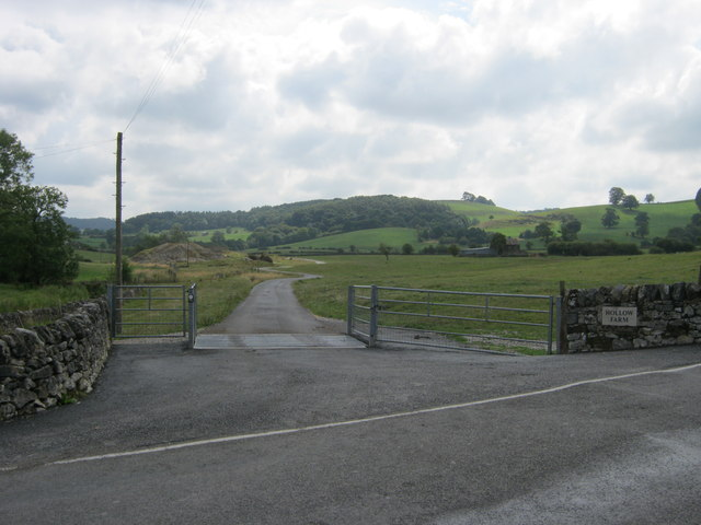 Drive to Hollow Farm, Youlgrave