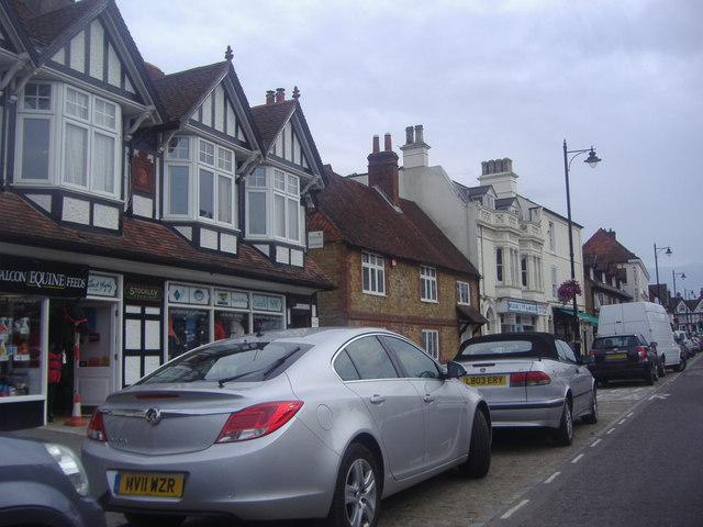 Shops on North Street, Midhurst