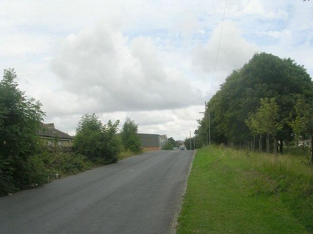 Hodgson Lane - viewed from Moorside Road