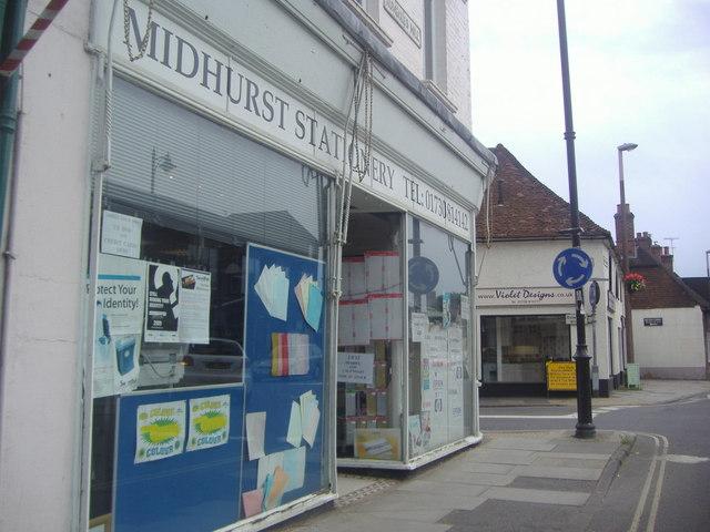 Midhurst Stationery on Rumbolds Hill