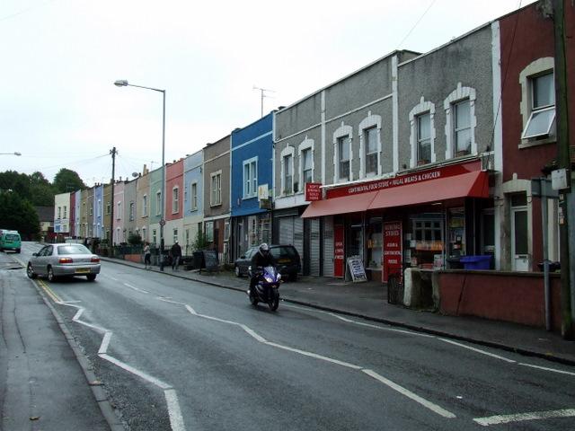 Shops on St Luke's Road