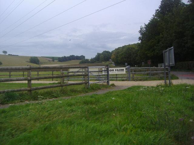 Entrance to Manor Farm, Singleton