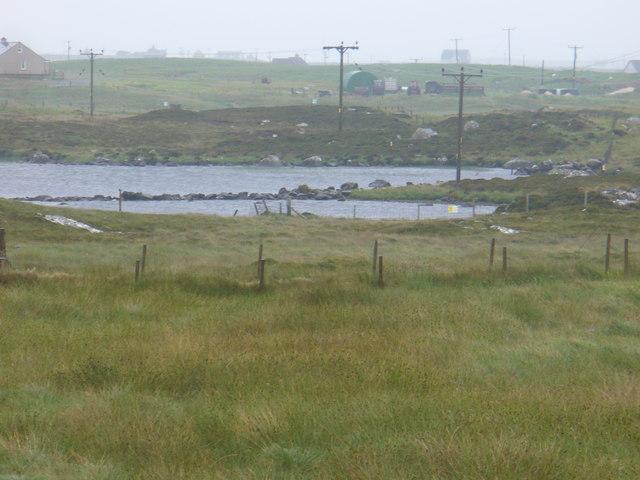 Fields by Loch na Muilne