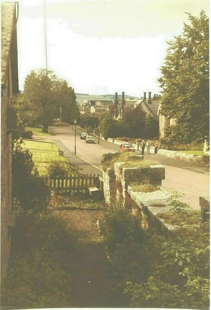 The approach to Ford castle in 1984