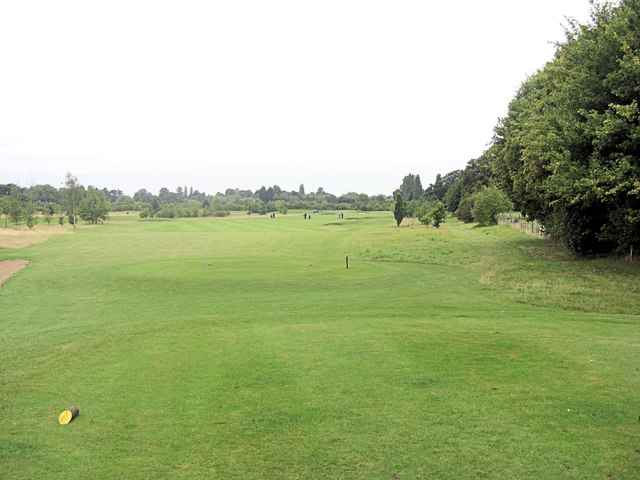 The Springs Golf Course 4th tee and fairway