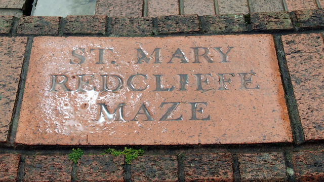 St Mary Redcliffe Maze