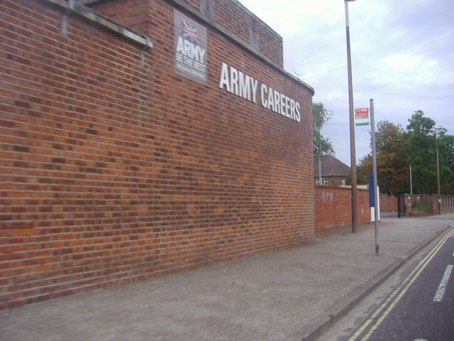 The army careers office, Broyle Road