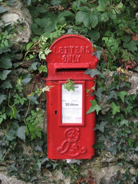 Edwardian Post Box