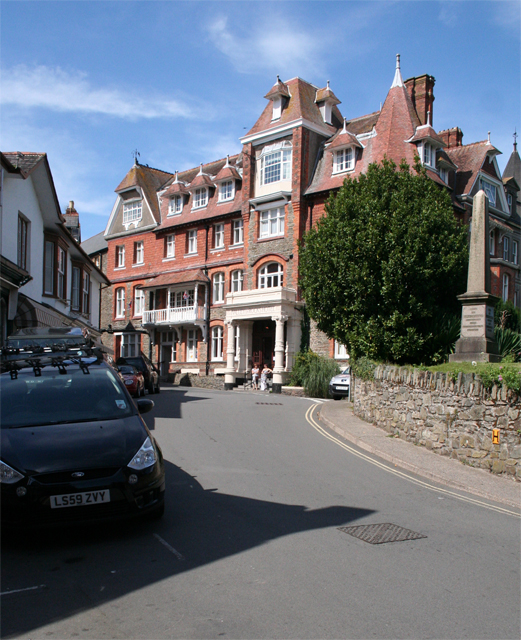 Lynton: Valley of the Rocks Hotel