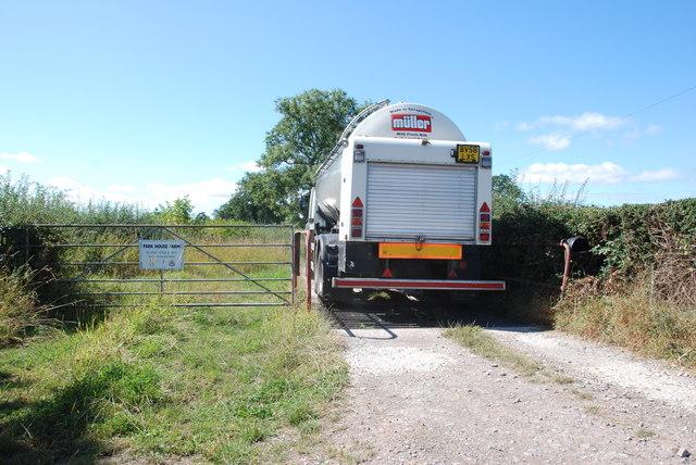 Milk Lorry on the Move