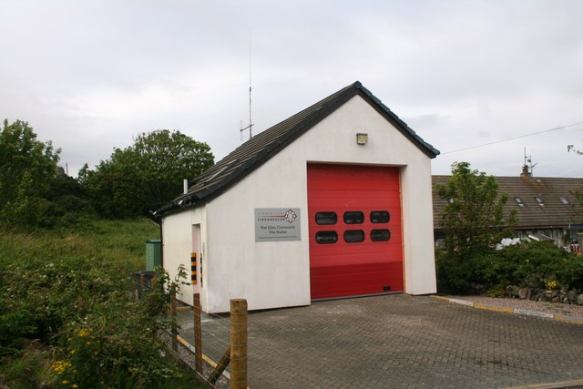Port Ellen Fire Station