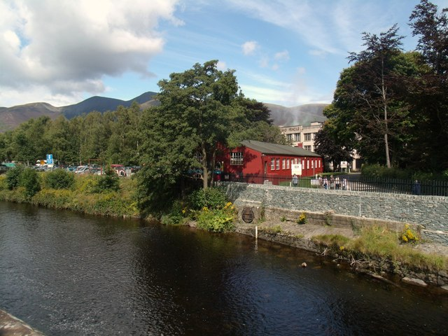 The River Derwent and the Cumberland Pencil Museum