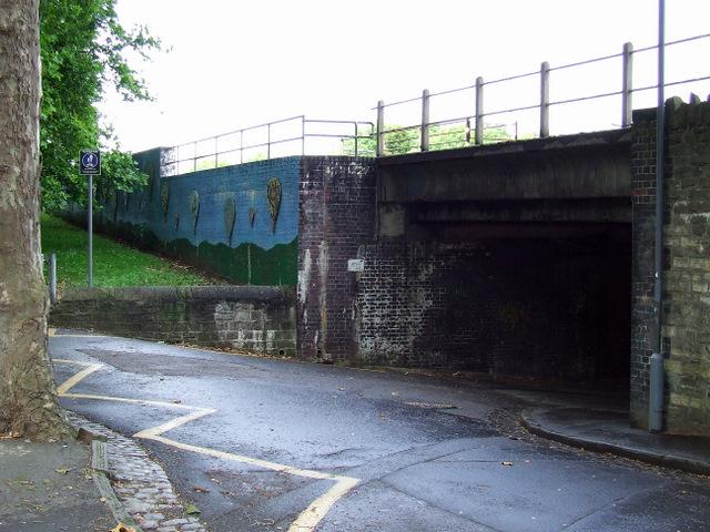Railway bridge at Windmill Close