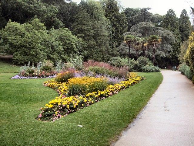Flowerbed in Alexandra Park