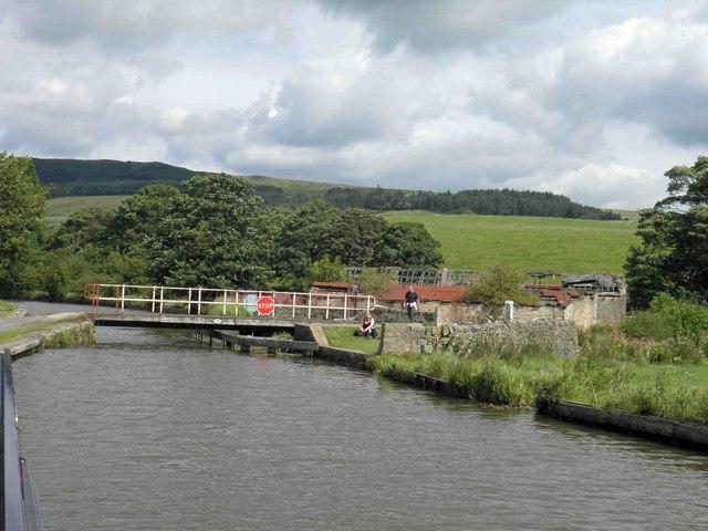 Bridge 174 (Thorlby) on the Leeds Liverpool canal