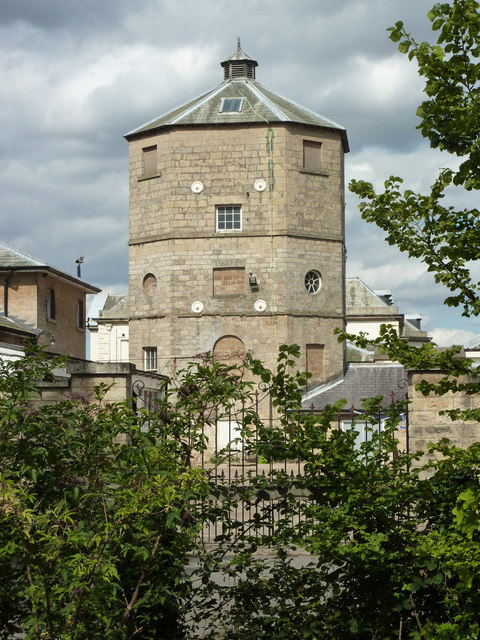 Osberton Hall water tower and brew house