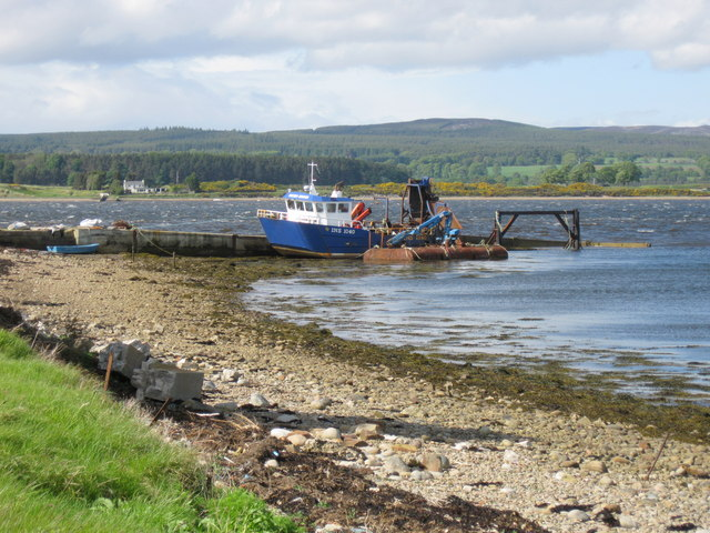 Meikle Ferry (South) pier