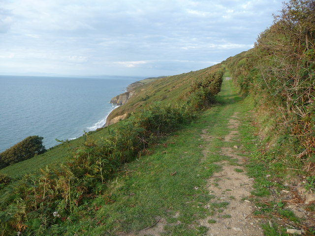 Path above the Ceredigion Coast