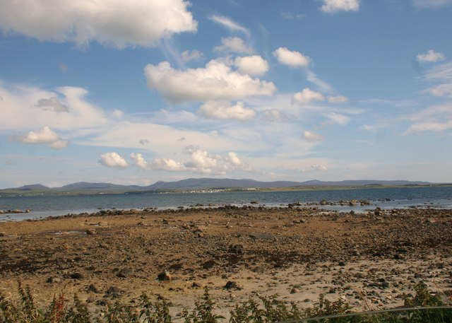 Beach by Loch Gorm House