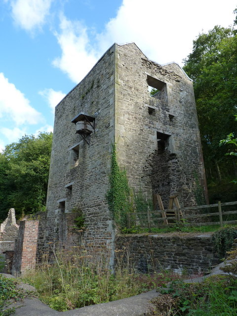 Cornish Engine house - Snailbeach mine
