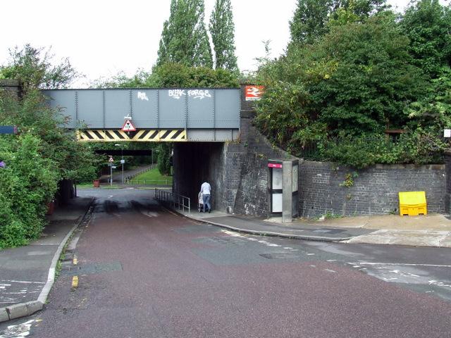 Railway bridge at Windmill Hill