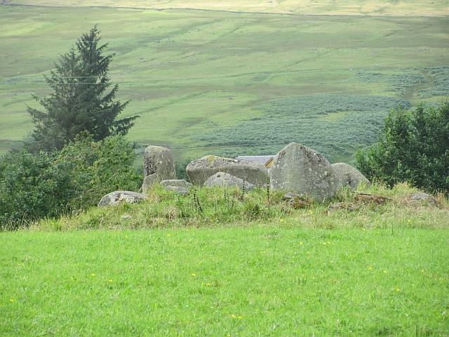 Machuim stone circle, Lawers