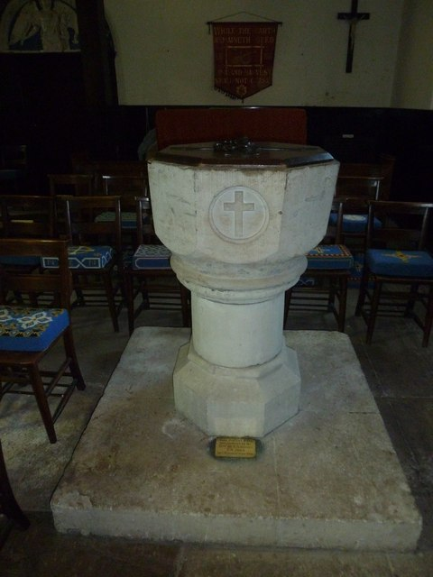 Church of the Assumption of the Blessed Virgin Mary Upper Froyle- font
