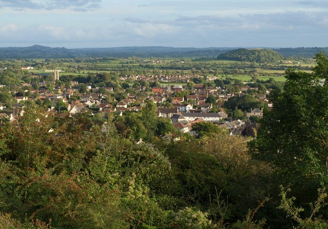 View over Cheddar