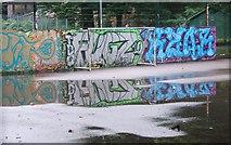 SX9164 : Graffiti, Torquay by Derek Harper