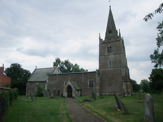 Church of All Saints, Peatling Magna