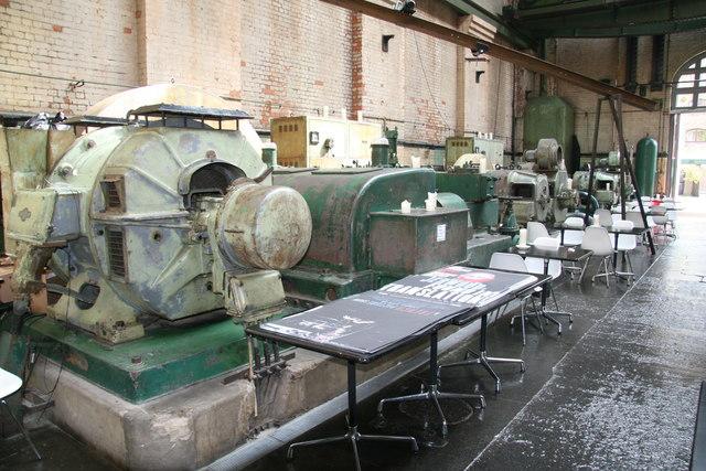 London Hydraulic Power Company, Wapping Pumping Station - machinery