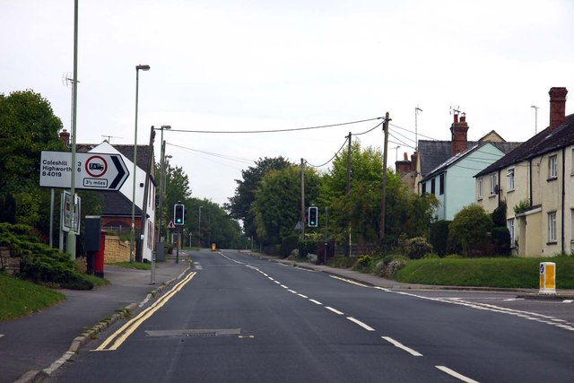 Coxwell Road in Faringdon